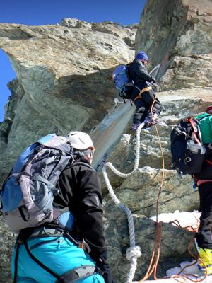 Castor-Pollux Bergführer Zermatt