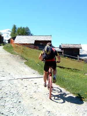 Mountainbike-Mountainbikeführer Zermatt