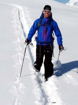 Skitouren-Bergführer Skiführer Zermatt