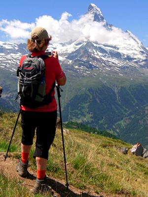 Kleine Runde-Wanderführer Zermatt
