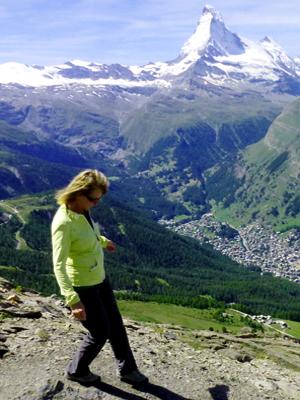 Herausforderung-Wanderführer Zermatt