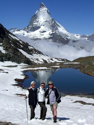 Klein aber fein-Wanderführer Zermatt
