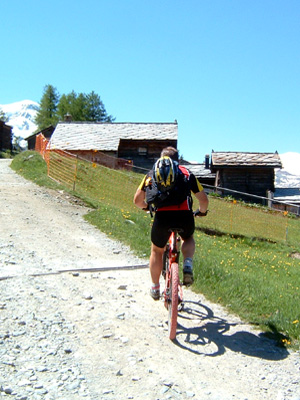 Mountainbike-Bike Guide Zermatt